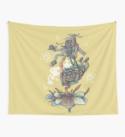 Wingmen In The Evening Wall Tapestry
