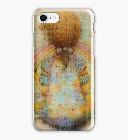 once upon a rainbow iPhone Case/Skin