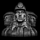 Miners In The Dark by Steve Purnell