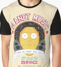 Planet Music Graphic T-Shirt