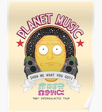 Planet Music Poster