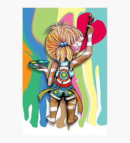 Art Chick Photographic Print
