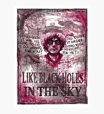 "Syd Barrett - ""Poles Apart"" Photographic Print"