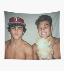 Cute Dolan Twins Wall Tapestry