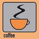 coffee orange by Micheline Kanzy