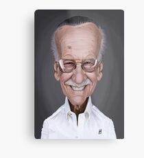 Stan Lee Metal Print