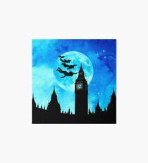 Magical Watercolor Night - Peter Pan Art Board Print