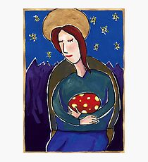 Our Lady of the Egg Photographic Print
