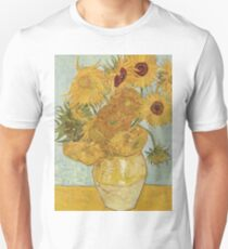 Sunflowers Van Gogh Unisex T-Shirt