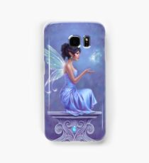 Opalite Fairy with Glowing Butterfly Samsung Galaxy Case/Skin