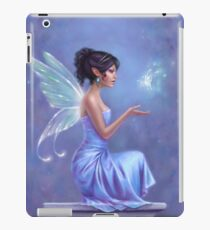Opalite Fairy with Glowing Butterfly iPad Case/Skin
