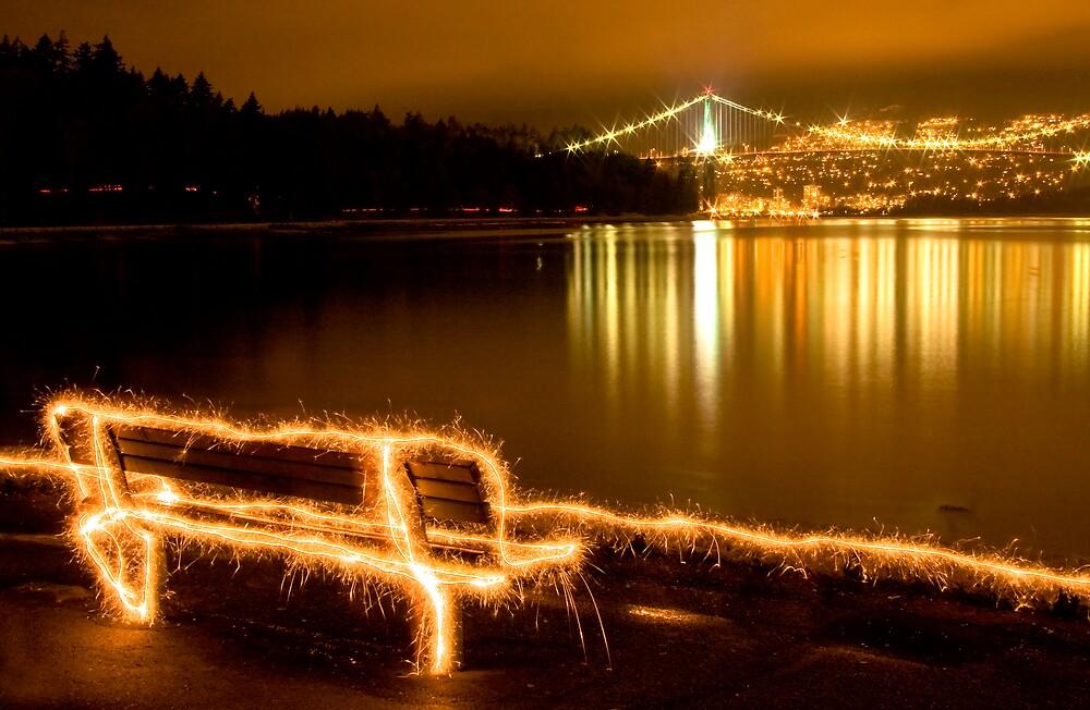 Seawall Spark by John Heil