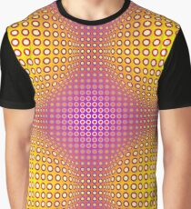 Vasarely style Graphic T-Shirt