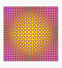 Vasarely style Photographic Print