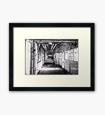 candy factory 4 Framed Print