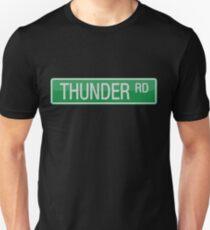 044 Thunder Road street sign Unisex T-Shirt