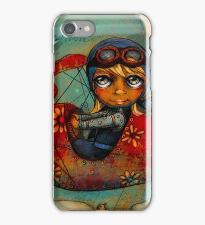 Little Red Plane iPhone Case/Skin