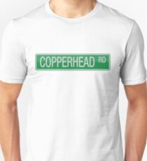 008 Copperhead Road street sign Unisex T-Shirt