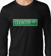 009 Country Road streets sign T-Shirt