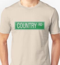 009 Country Road streets sign Unisex T-Shirt