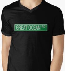020 Great Ocean Road street sign T-Shirt