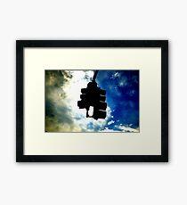Sky Light Framed Print