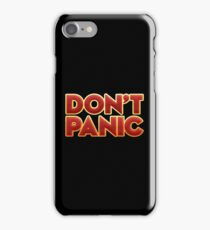 Dont panic - Novel iPhone Case/Skin