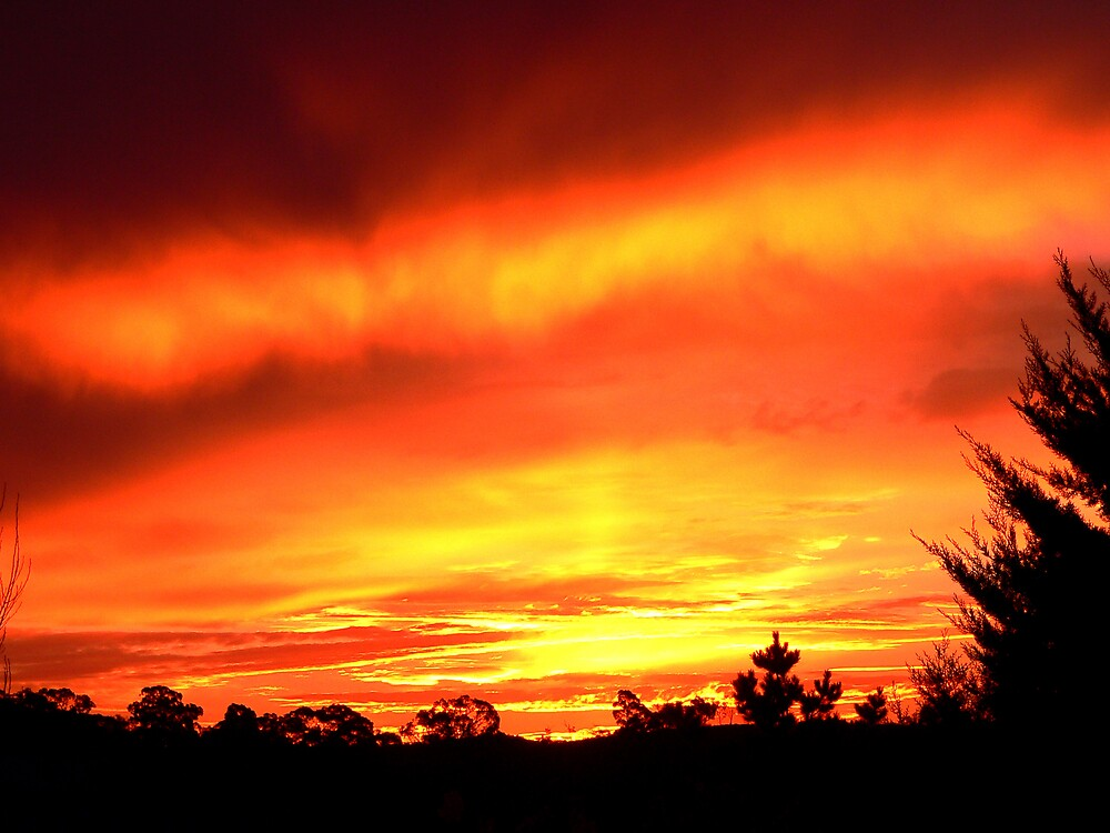 Fire In The Sky by Bouzov