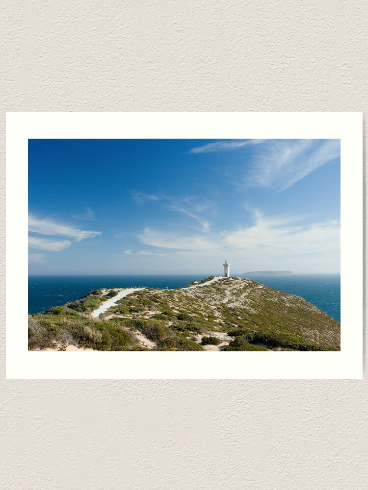 Alternate view of The Light on the Hill. Art Print