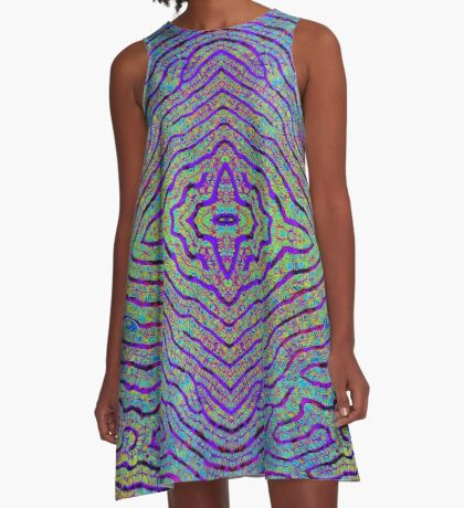 Life Lines - Mirrored A-Line Dress