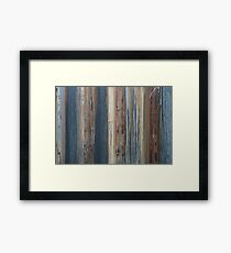 Rusty old shipping container Framed Print