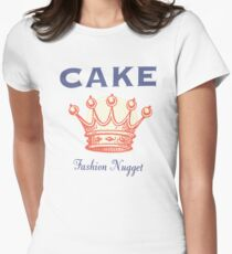 cake Women's Fitted T-Shirt