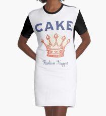 Kuchen T-Shirt Kleid