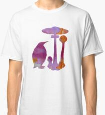 The Penguin And The Mushroom Classic T-Shirt
