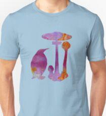 The Penguin And The Mushroom Unisex T-Shirt