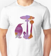 The Penguin And The Mushroom Unisex T-Shirt