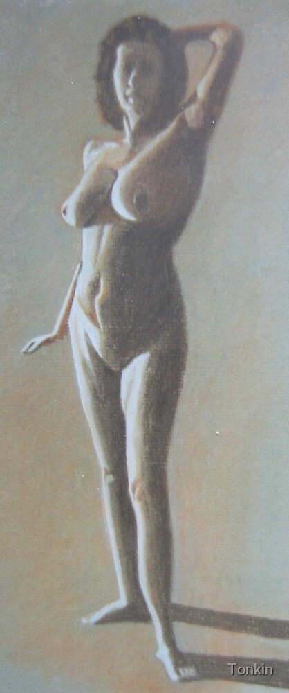 Standing Nude by Tonkin