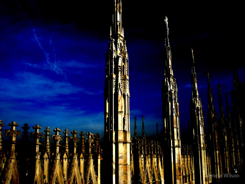 Gothic towers by Gemma Wilson