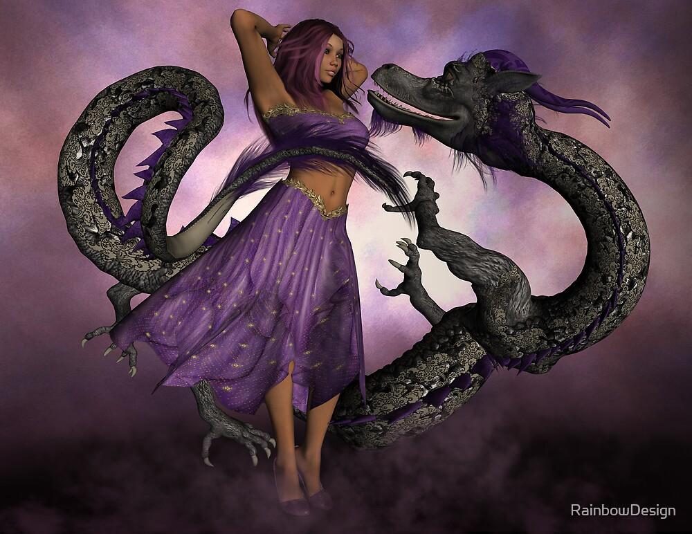 Romancing the Dragon by RainbowDesign