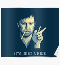 Bill Hicks It's Just A Ride Poster