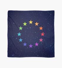Rainbow EU, EU stars, flag, European Union, colorful Scarf