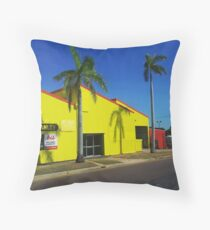 Yellow Streetstyle Throw Pillow