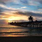 San Clemente Pier by K D Graves Photography