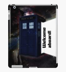 Welcome Aboard! iPad Case/Skin