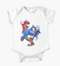 mario & sonic One Piece - Short Sleeve
