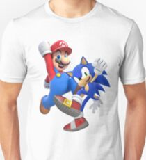 mario & sonic Unisex T-Shirt