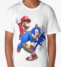mario & sonic Long T-Shirt