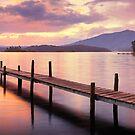 Lake Wallaga, Bermagaui, New South Wales, Australia by Michael Boniwell