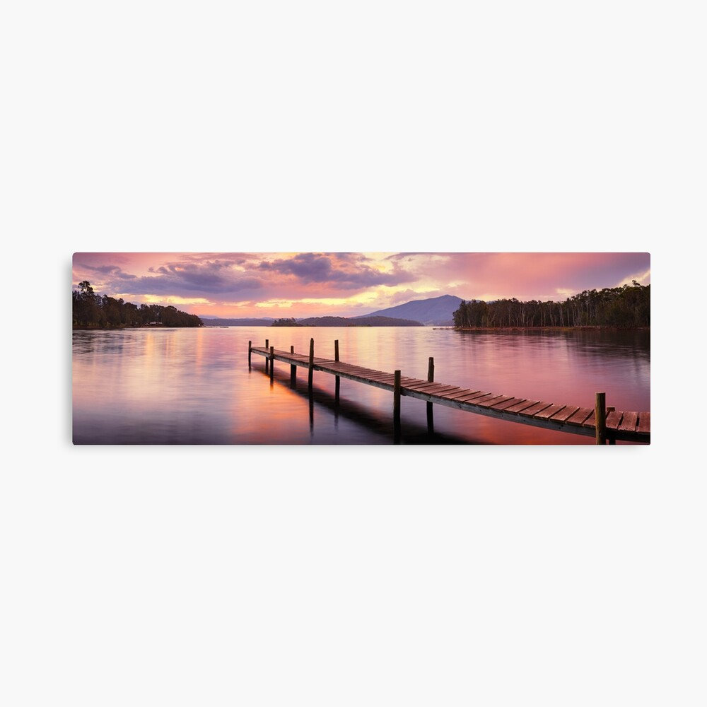 Lake Wallaga, Bermagaui, New South Wales, Australia Canvas Print