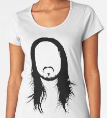 steve aoki face Women's Premium T-Shirt